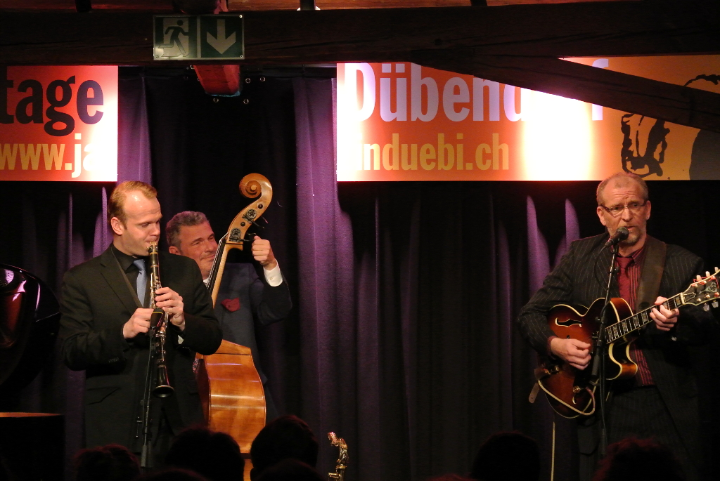The Power Swing Quartet: Linus Wyrsch | Martin Pizzarelli | Jörg Seidel