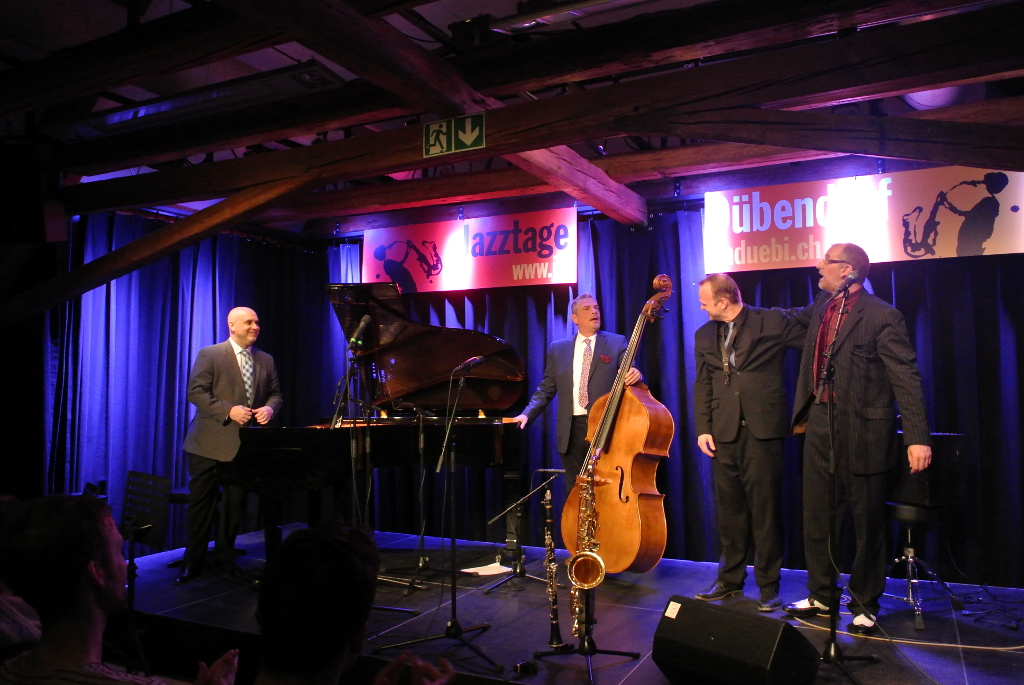 The Power Swing Quartet: Larry Fuller | Martin Pizzarelli | Linus Wyrsch | Jörg Seidel