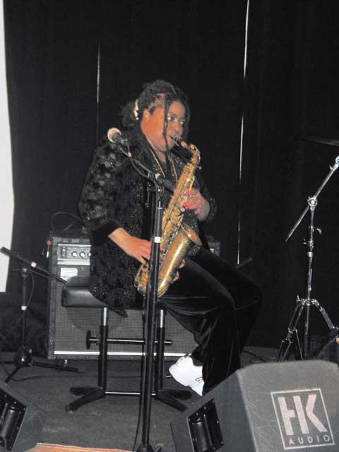 Fostina Dixon  am 13.03.2003 (Obere Mühle) © Thomas Müller