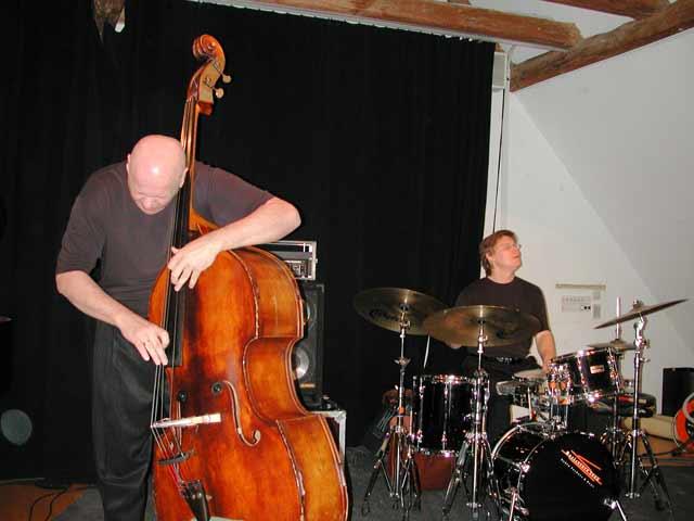 Jay Anderson | Steve Davis  am 24.04.2003 (Obere Mühle) © Thomas Müller